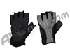 JT Half Finger Paintball Gloves - Black/Grey