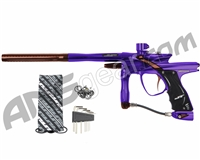 JT Impulse Paintball Gun - Purple/Brown
