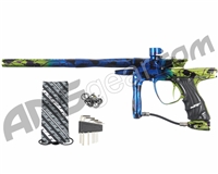 JT Impulse Paintball Gun - Splash Blue/Slime