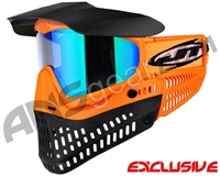 Jt ProFlex Thermal Paintball Mask - Brimstone Orange/Black w/ Prizm 2.0 Fluorite Lens