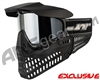 Jt ProFlex Thermal Paintball Mask - Black/Black w/ Prizm Chrome Lens