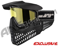 Jt ProFlex Thermal Paintball Mask - Black/Black w/ Yellow Lens
