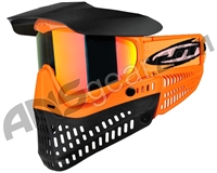 JT Pro-Flex Thermal Paintball Mask - Brimstone Orange/Black