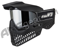 JT ProFlex OG Thermal Paintball Mask - Black/Black w/ Prizm Chrome Lens