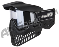 JT ProFlex OG Thermal Paintball Mask - Black/Black w/ Clear Lens
