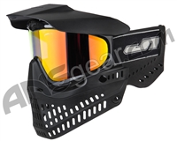 JT ProFlex OG Thermal Paintball Mask - Black/Black w/ Prizm 2.0 Hi-Def Lens