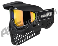 JT ProFlex OG Thermal Paintball Mask - Black/Black w/ Prizm 2.0 Lava Lens
