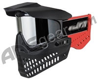 JT ProFlex OG Thermal Paintball Mask - Black/Red w/ Prizm Chrome Lens