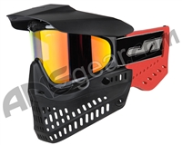 JT ProFlex OG Thermal Paintball Mask - Black/Red w/ Prizm 2.0 Hi-Def Lens