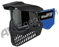 JT ProFlex OG Thermal Paintball Mask - Black/Royal Blue w/ Smoke Lens