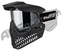 JT ProFlex OG Thermal Paintball Mask - Black/White w/ Prizm Chrome Lens