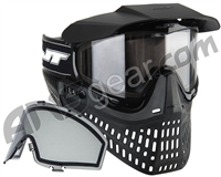 Jt ProFlex Thermal Paintball Mask w/ FREE Additional Smoke Lens - Black/Black