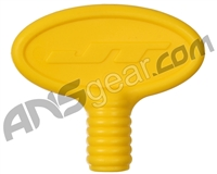 JT Rubber Barrel Plug - Yellow (63325)