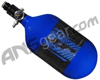 JT Mega Lite 68/4500 Compressed Air Paintball Tank - Blue