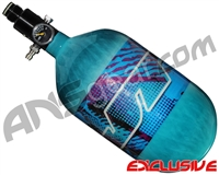 JT Mega Lite 68/4500 Compressed Air Paintball Tank - Retro Teal (Teal)