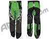 JT Team Paintball Pants - Lime Green