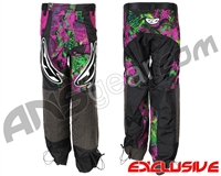JT Team Paintball Pants - Retro Purple/Lime