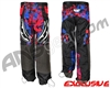 JT Team Paintball Pants - Retro Red/Blue