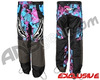 JT Team Paintball Pants - Retro Teal/Pink