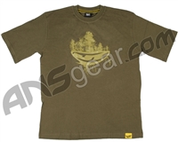 JT Woodsball Men's T-Shirt - Olive