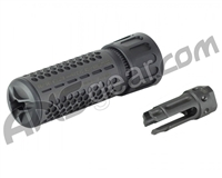 Knight's Armament Airsoft QDC/CQB Quick Detach Barrel Extension - Black