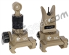 Knight's Armament Back Up Iron Sights - Tan