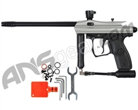 Refurbished Kingman Spyder Opus .50 Caliber Paintball Gun - Silver Grey