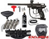 Kingman Spyder Victor Epic Paintball Gun Package Kit - Diamond Black