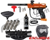 Kingman Spyder Victor Epic Paintball Gun Package Kit - Gloss Orange