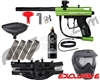 Kingman Spyder Victor Epic Paintball Gun Package Kit - Gloss Slime