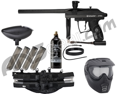 Kingman Spyder Xtra Epic Paintball Gun Package Kit
