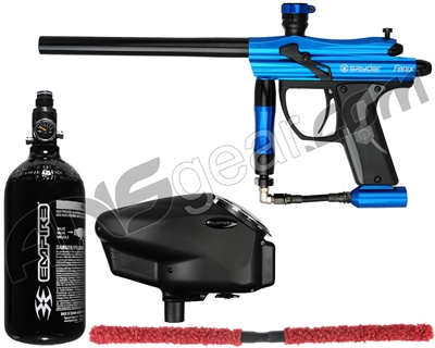 Kingman Spyder Fenix Core Paintball Gun Package Kit