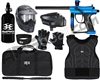 Kingman Spyder Fenix Level 3 Protector Paintball Gun Package Kit