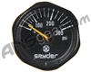 Kingman Spyder 300psi Gauge - Black