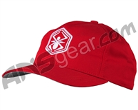 Kingman Spyder Adjustable Hat - Red