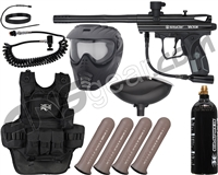 Kingman Spyder Victor Heavy Gunner Paintball Gun Package Kit