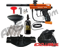 Kingman Spyder Victor Legendary Paintball Gun Package Kit - Gloss Orange