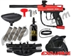 Kingman Spyder Victor Legendary Paintball Gun Package Kit - Gloss Red