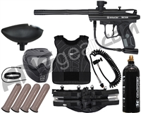 Kingman Spyder Victor Light Gunner Paintball Gun Package Kit