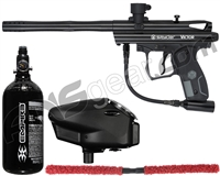 Kingman Spyder Victor Core Paintball Gun Package Kit