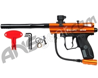 Kingman Spyder Victor Semi-Auto Paintball Gun - Gloss Orange