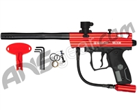 Kingman Spyder Victor Semi-Auto Paintball Gun - Gloss Red