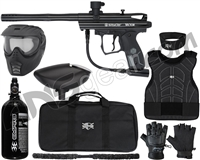 Kingman Spyder Victor Level 1 Protector Paintball Gun Package Kit