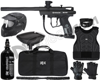 Kingman Spyder Victor Level 2 Protector Paintball Gun Package Kit