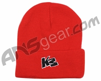 KM Paintball Beanie - Red