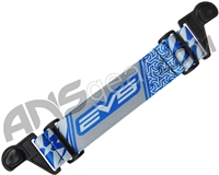 KM Paintball EVS Goggle Strap - Blue/Grey