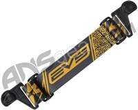 KM Paintball EVS Goggle Strap - Gold/Black