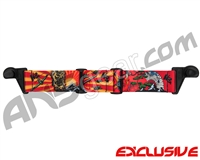 KM Paintball EVS Goggle Strap - Limited Edition Kamikaze