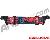 KM Paintball EVS Goggle Strap - Limited Edition Rising Sun Tiger