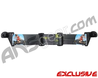 KM Paintball EVS Goggle Strap - SE Bombin' Betty